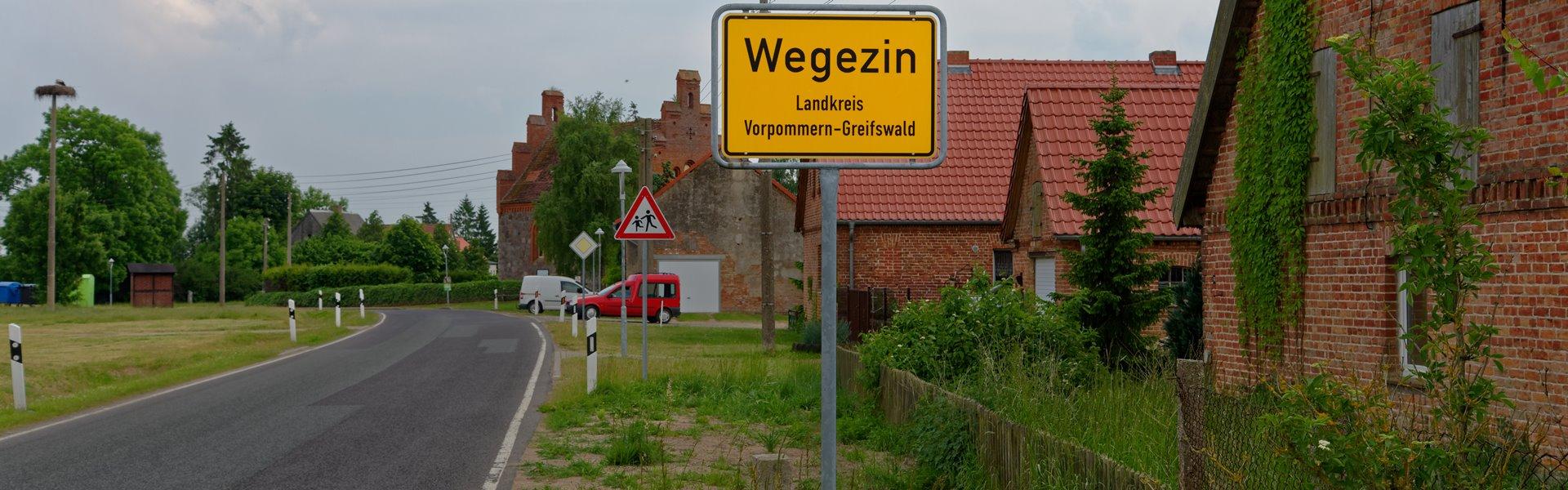 Wegezin im Landkreis Vorpommern-Greifswald