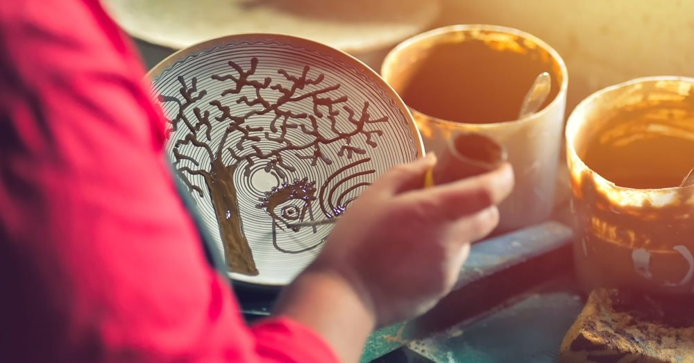 Keramikmalerei
