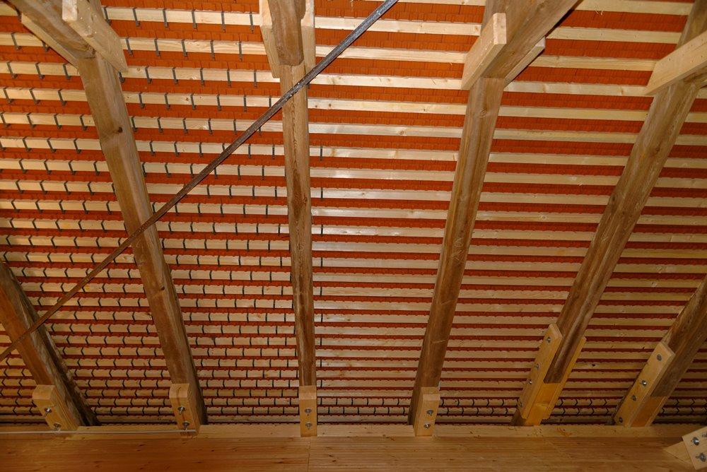 Das neue Dach von Innen!