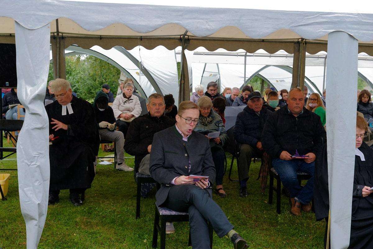 Festgottesdienst in Wegezin am 27.09.2020