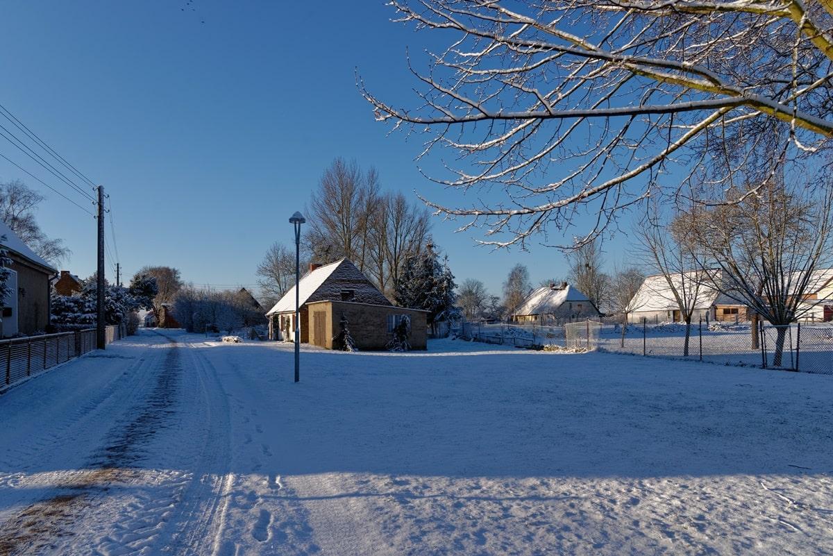 Festplatz & Dörphus im Winterschlaf
