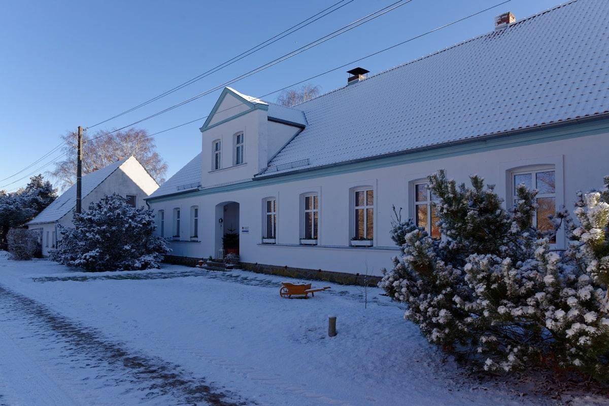 Blau-Weiß in Vorpommern