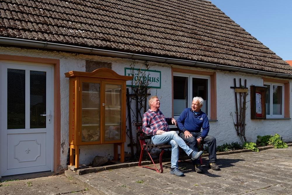 Horst & Ralf nach getaner Arbeit