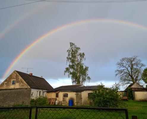 Regenbogendoppel 75