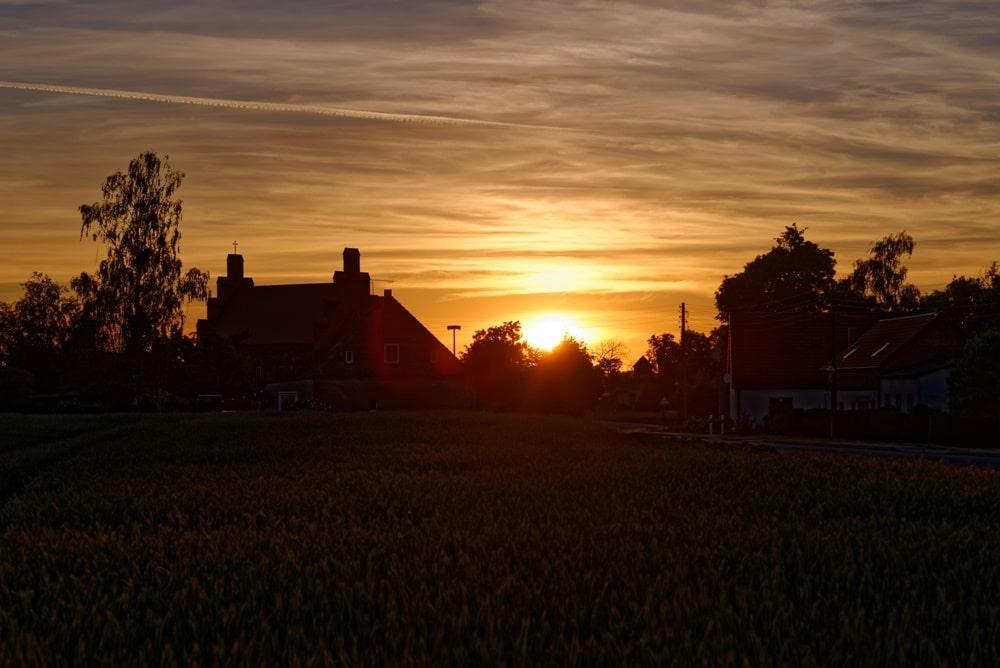 Wegezin im Licht der Abendsonne